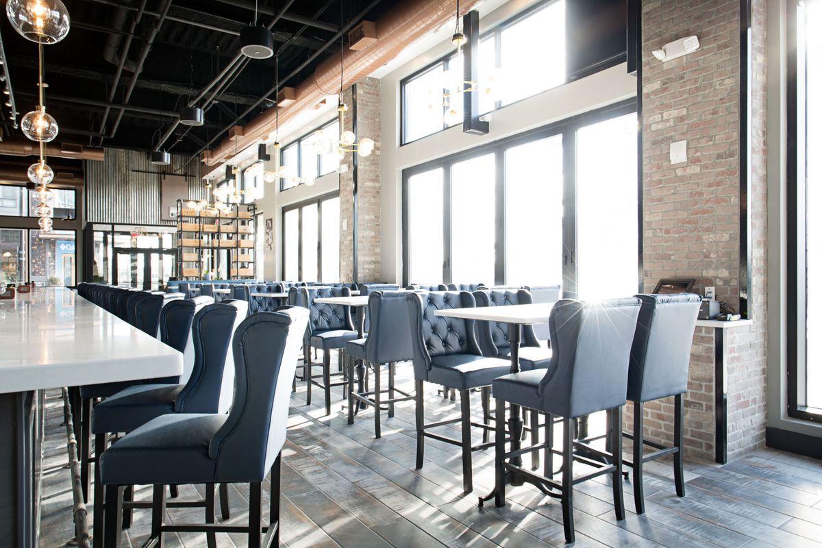 Bar and dining area at la cucina