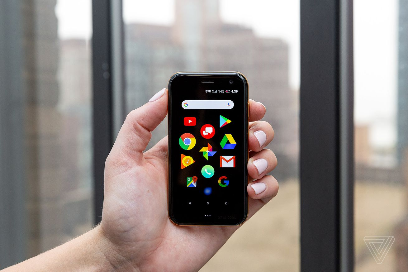 palm s tiny android phone launches on november 2nd