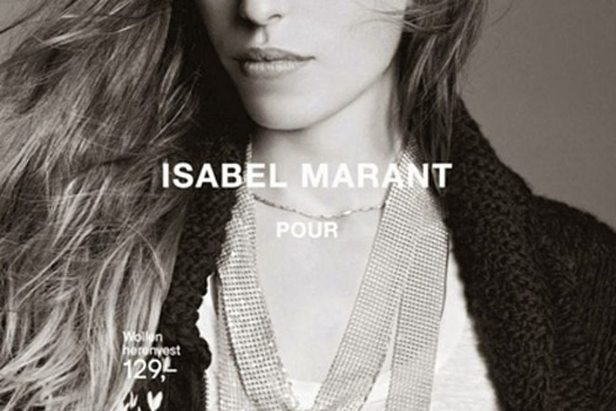 """Photos by H&amp;M and via <a href=""""http://www.styleite.com/media/isabel-marant-h-m-full-campaign-photos/"""">Styleite</a>."""