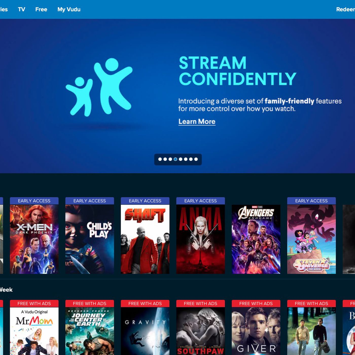 Free Sexy Short Movies vudu's new family play mode automatically skips sex