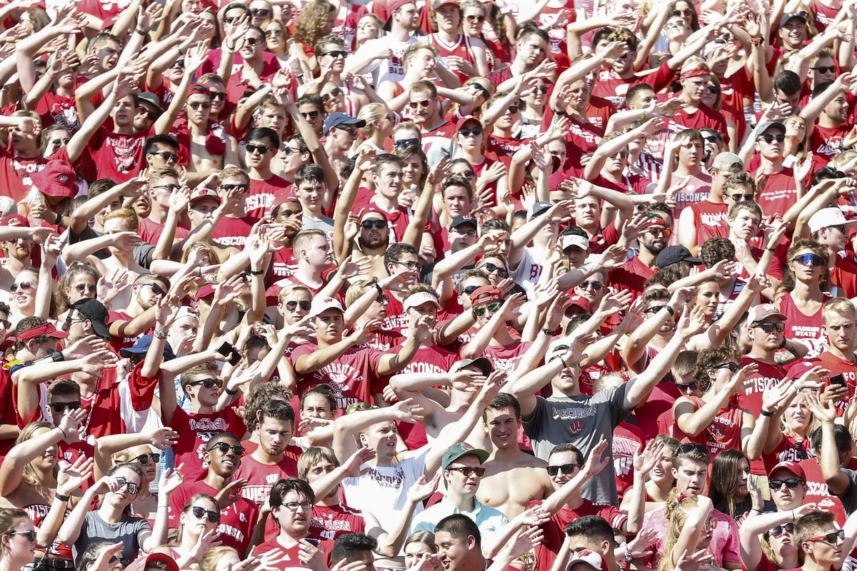 COLLEGE FOOTBALL: SEP 15 BYU at Wisconsin