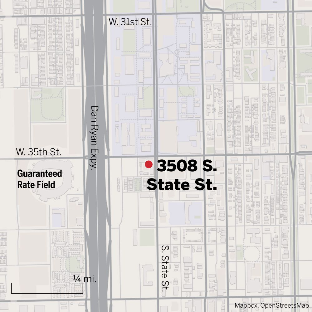 Map of 3508 S. State St.