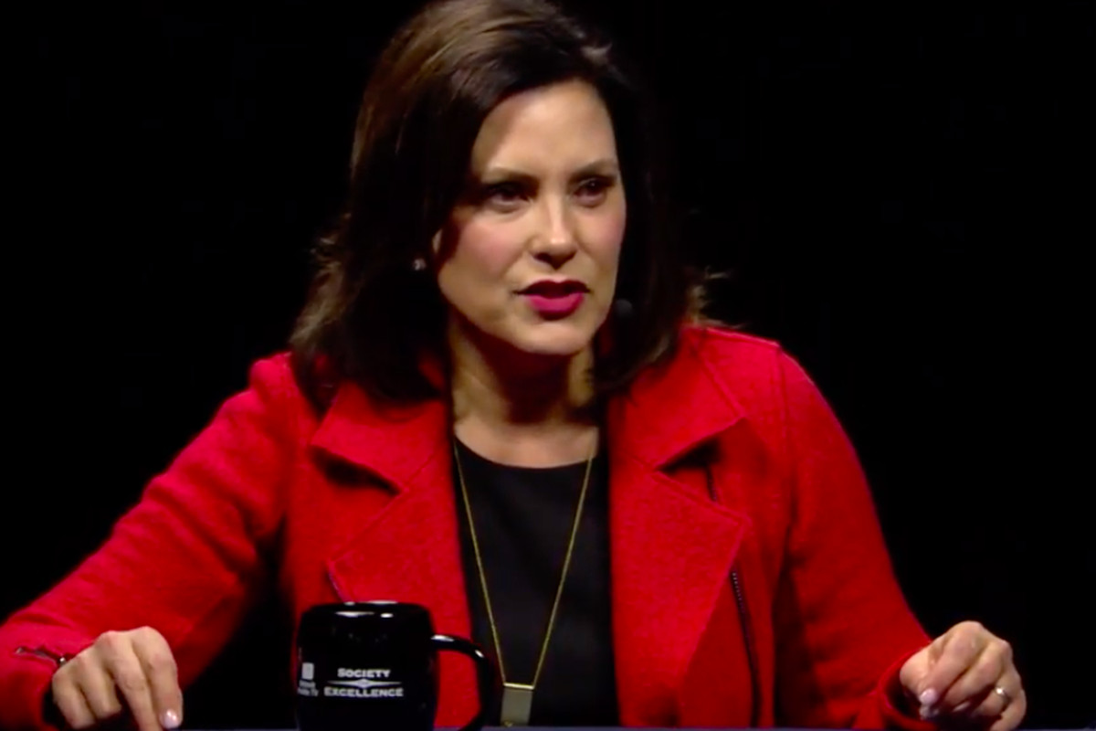 Gretchen Whitmer promised to boost school funding if she is elected governor.