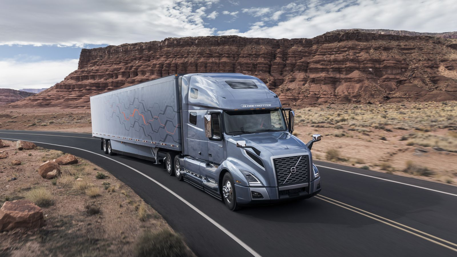 Volvo's new semi trucks now have more autonomous features and Apple CarPlay