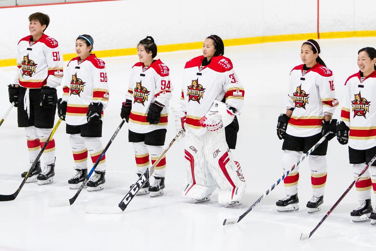 CWHL 2017-18 Season Recap: Kunlun Red Star - The Ice Garden