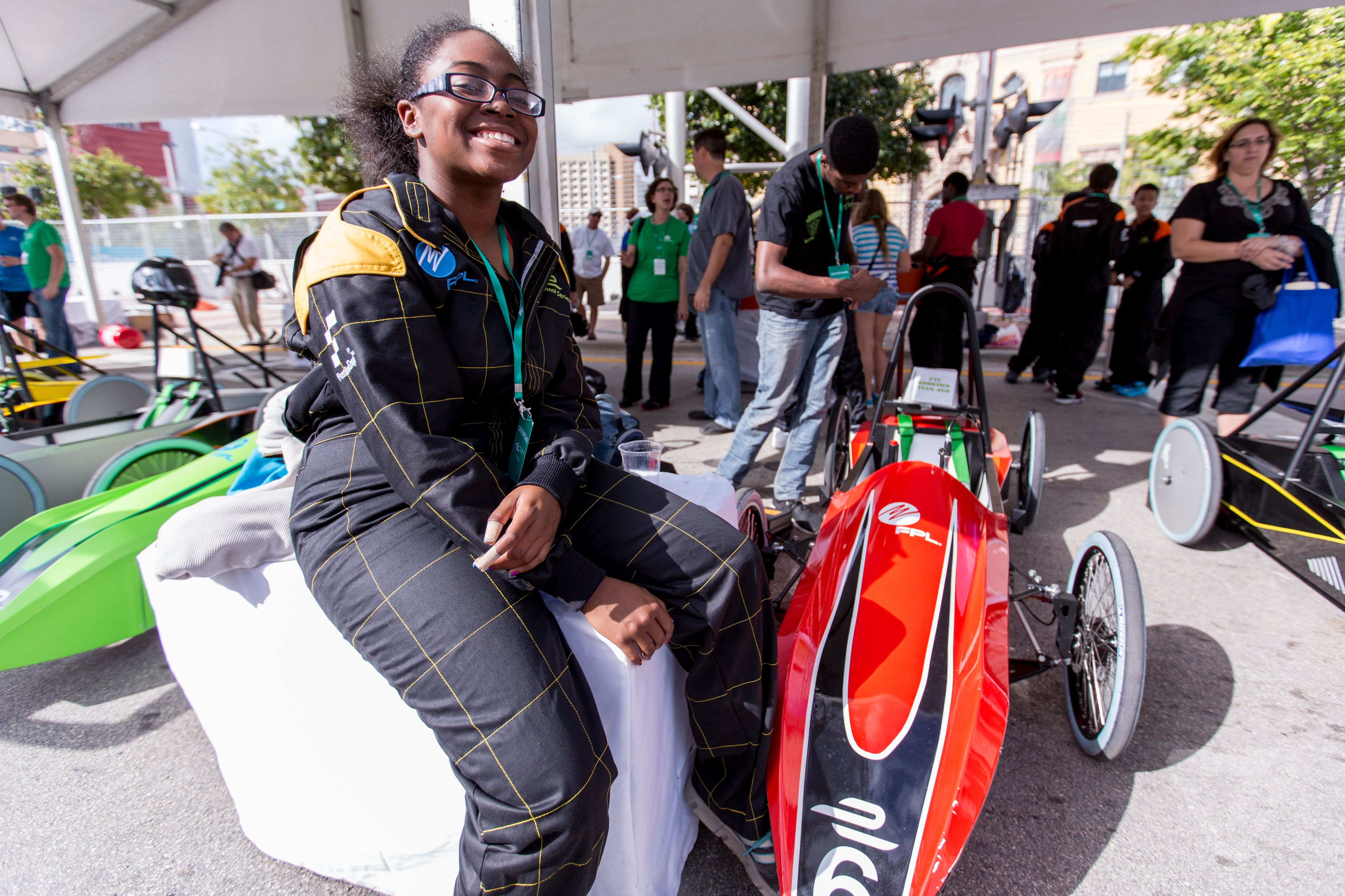 School Series electric kit car competition
