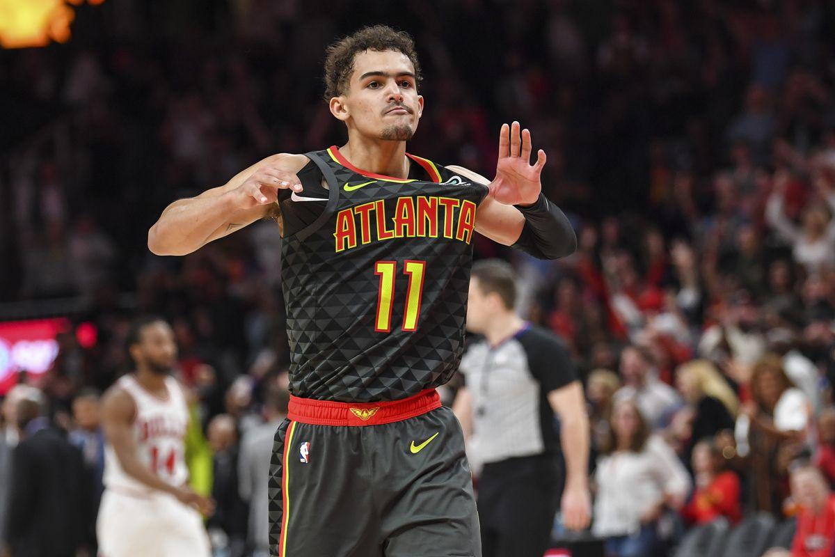ba0779122 Atlanta Hawks guard Trae Young emerging as elite NBA clutch ...