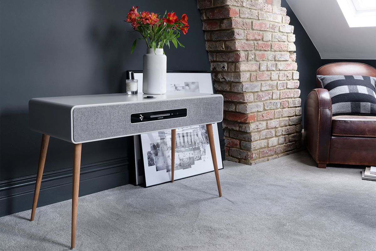 ruark audio 39 s r7 mk3 is a modern radiogram for audiophiles the verge. Black Bedroom Furniture Sets. Home Design Ideas
