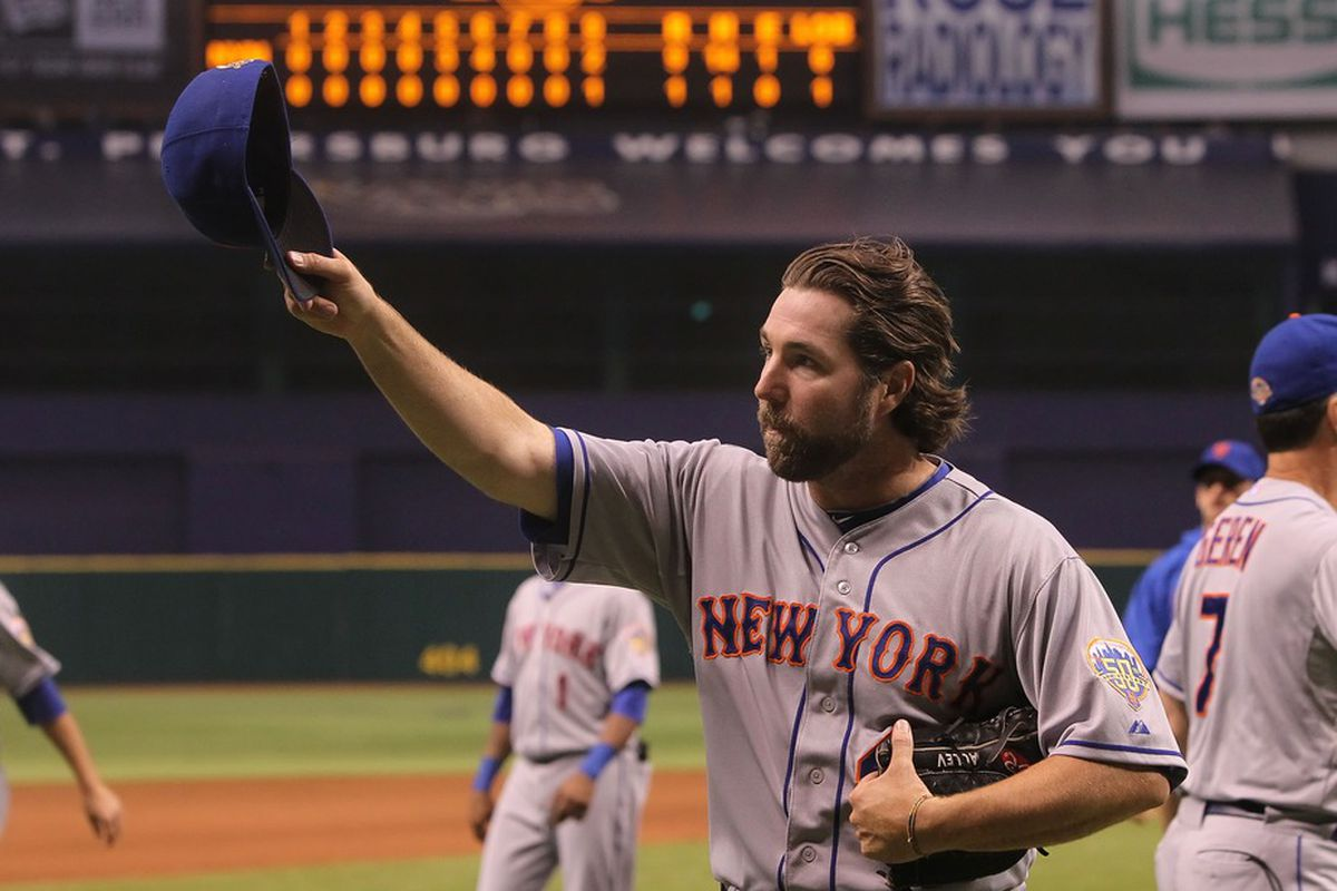 There's no better pitcher in baseball right now than R.A. Dickey.