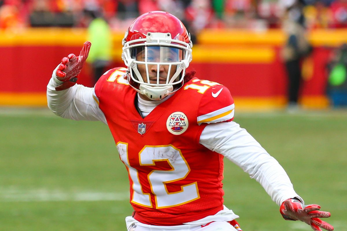 best sneakers 60cf8 390d6 Former Kansas City Chiefs WR Albert Wilson shares his ...