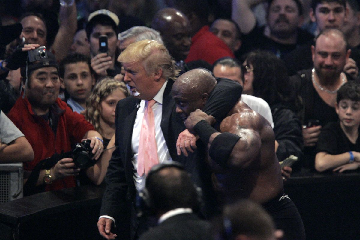 WWE wrestler wants to team up with Donald Trump in Washington, D.C.