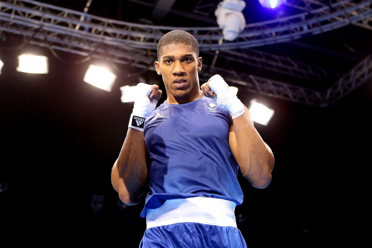 Anthony Joshua of Great Britain closes the show today, going for super heavyweight gold against Italy's Roberto Cammarelle. (Photo by Scott Heavey/Getty Images)