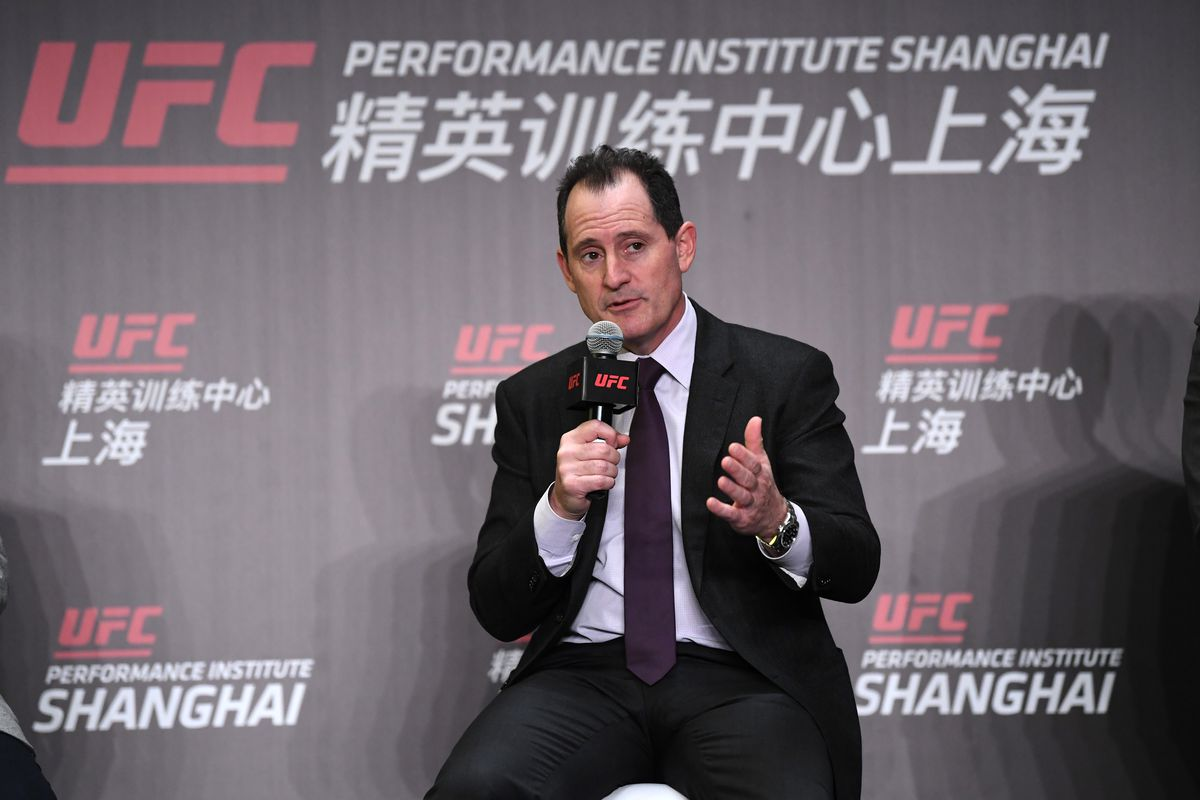 Lawrence Epstein - UFC Performance Institute Press Conference