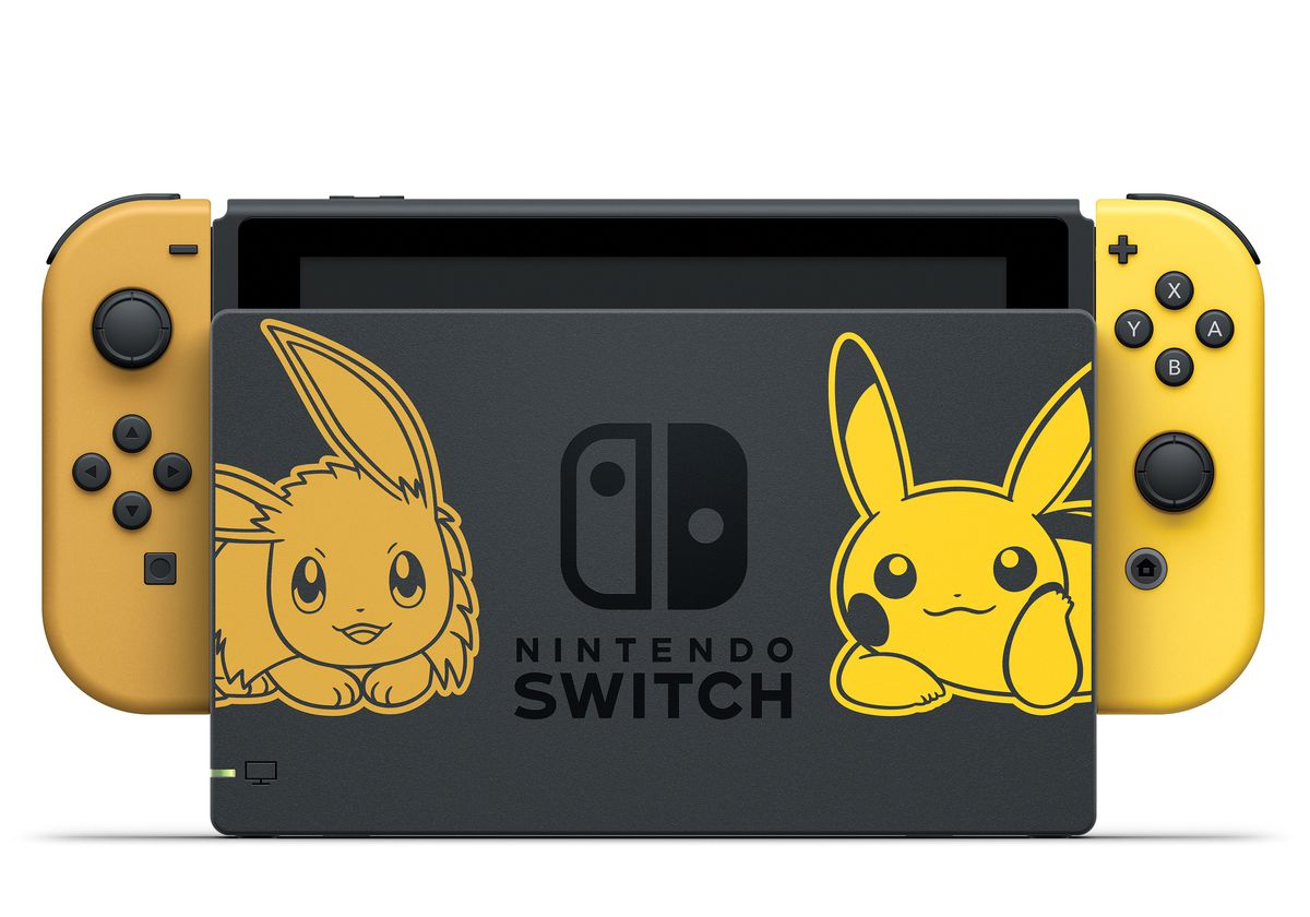 A special edition Nintendo Switch for Pokémon: Let's Go, Pikachu! and Let's Go, Eevee!