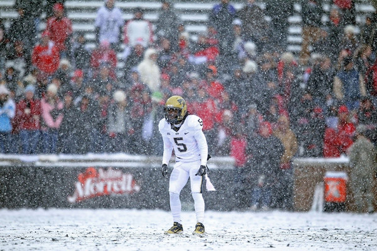 Pitt's Cam Saddler is nearly out of time to make an impact on the field.  (Photo by Andy Lyons/Getty Images)