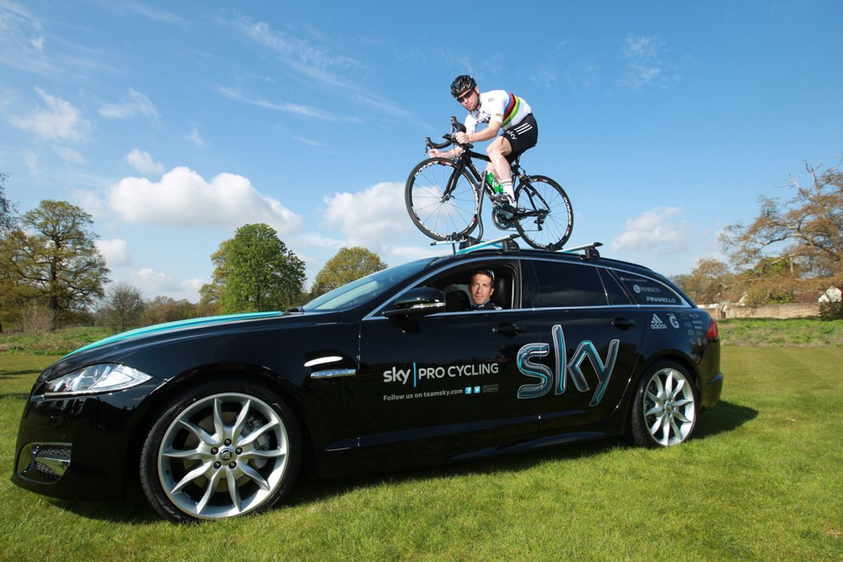 You're doing it wrong.  (Photo by Bryn Lennon/Getty Images for Team Sky)