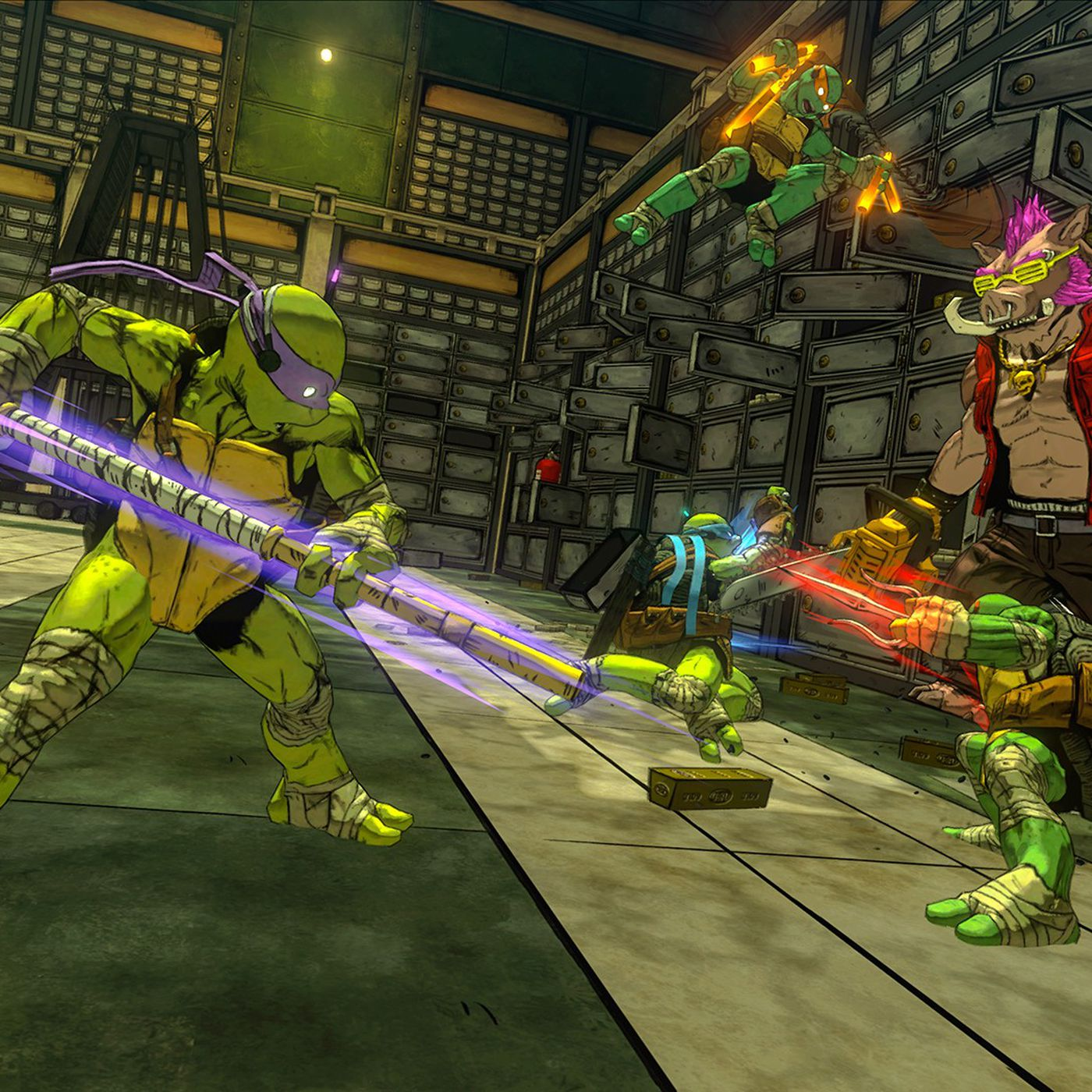 The new TMNT game feels like a proper successor to arcade classic