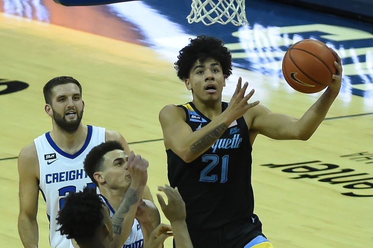 NCAA Basketball: Marquette at Creighton