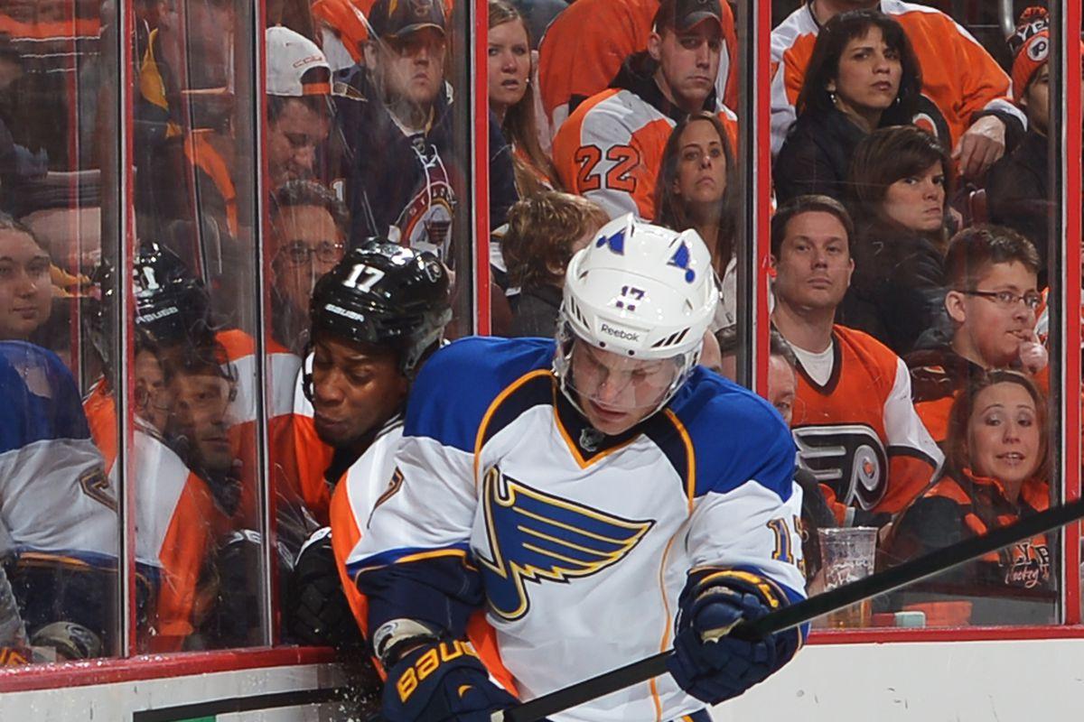 St. Louis Blues v Philadelphia Flyers