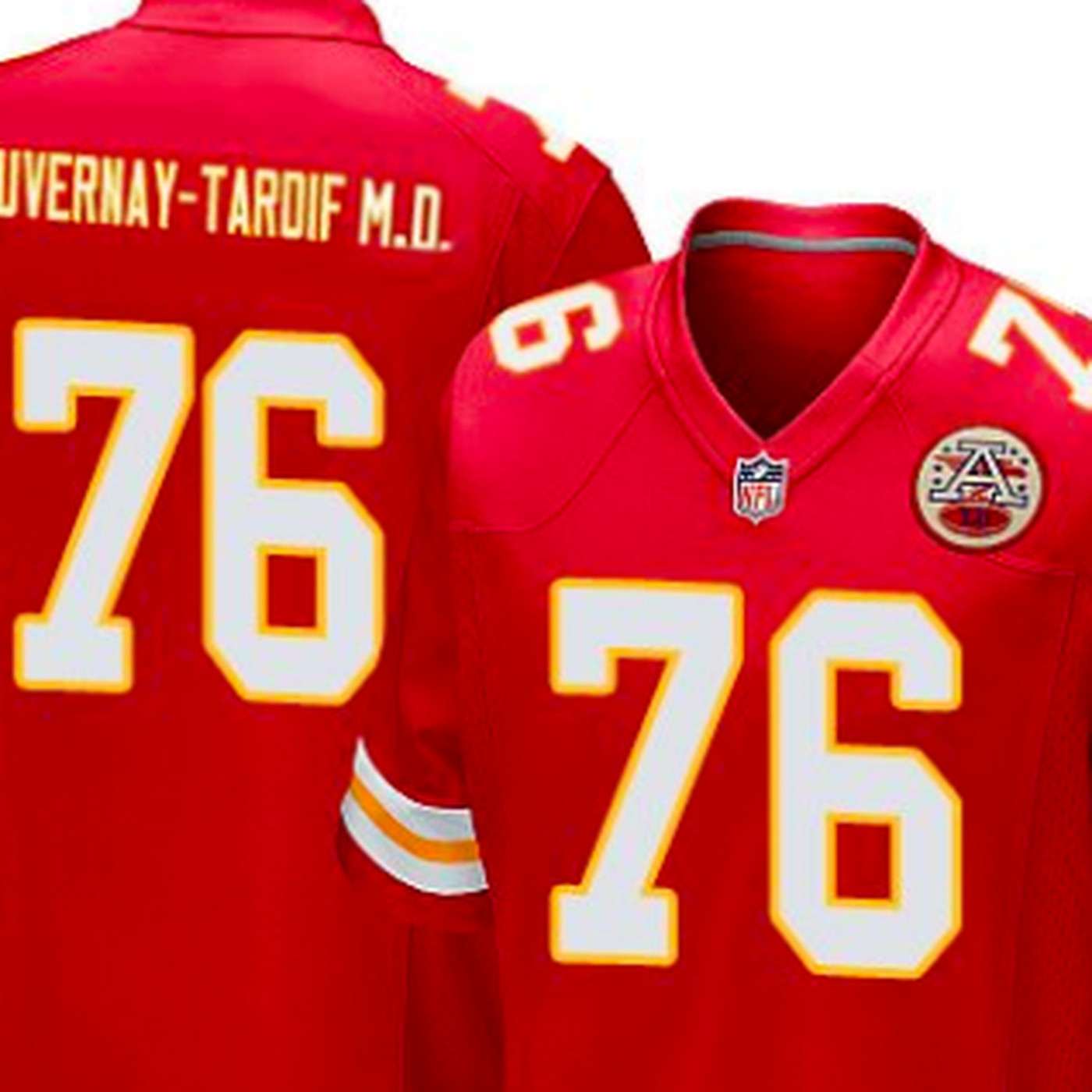 963835c9 Chiefs' Laurent Duvernay-Tardif wants to add 'M.D.' to his jersey ...