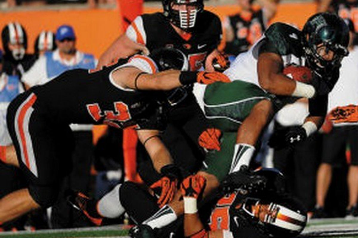 Joel Skotte, 32, will need neck surgery before he gets back on the field for Oregon St.