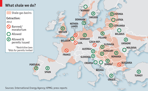 Europe shale gas
