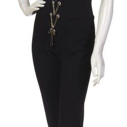 Bob Mackie, (American, b. 1940), Jumpsuit and Jacket Estimate: $100 to $200   Sold for: $3500