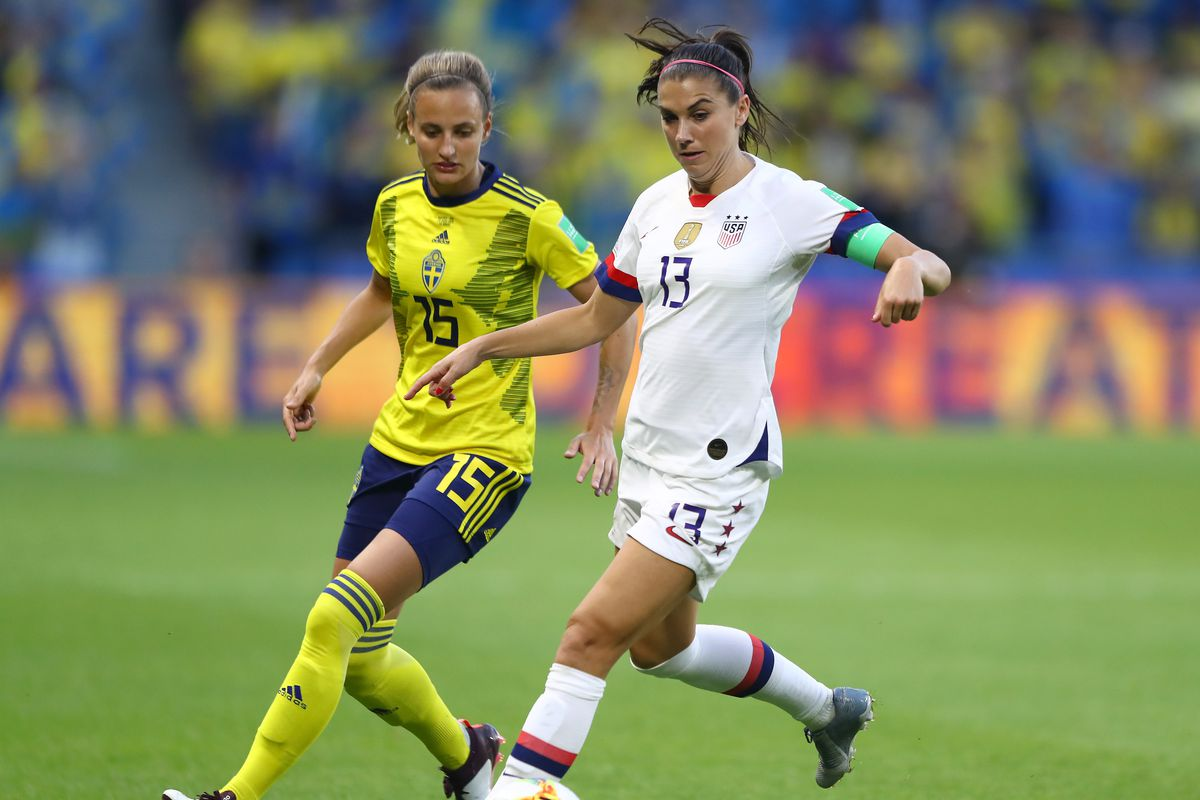 fb49093a0 19 WWC Round of 16 - Cal alum Alex Morgan and USA survives challenge ...