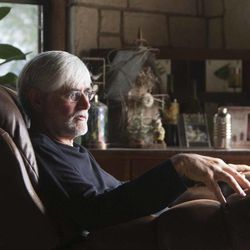 Im this Tuesday, Nov. 8 2011, photo, Dr. Dewayne Nash relaxes at his home in Bertram, Texas. Dr. Nash, a former family doctor practicing medicine in Bertram, is diagnosed with AlzheimerÍs disease.