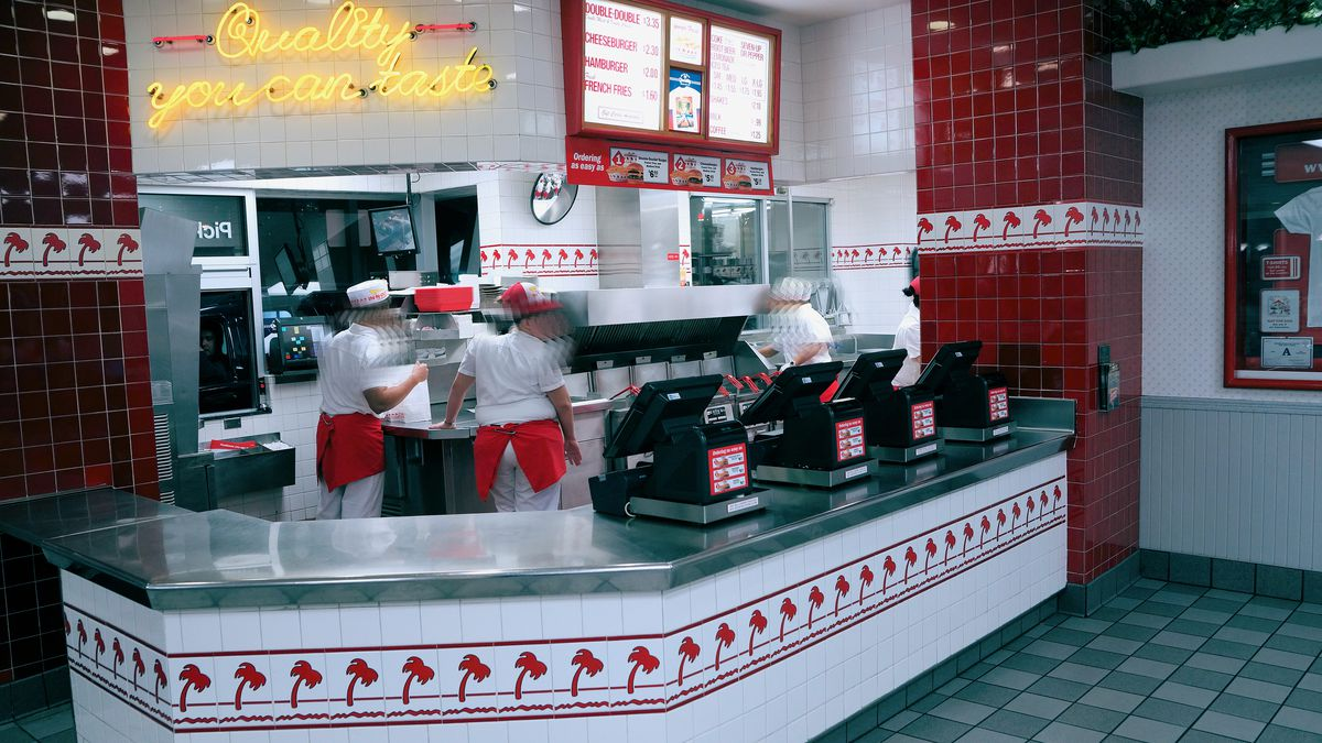 In-N-Out Order Counter