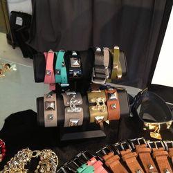 $40 leather bracelets