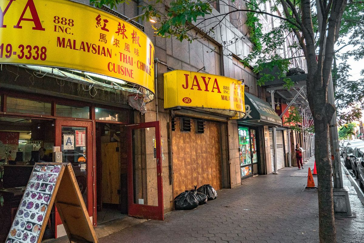 Jaya a restaurant on Baxter Street and other businesses are in risk of closing because they are in the footprint of the proposed new jail.