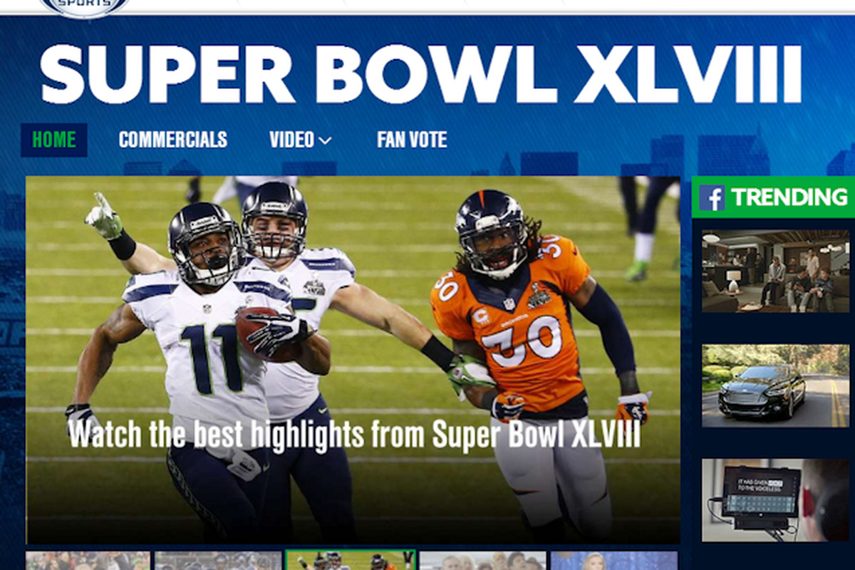 Twitter and Facebook Win the Super Bowl  And Fox and the NFL