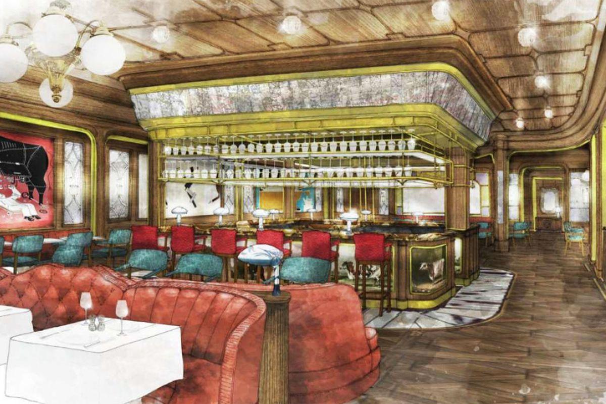 Bavette's Steakhouse rendering