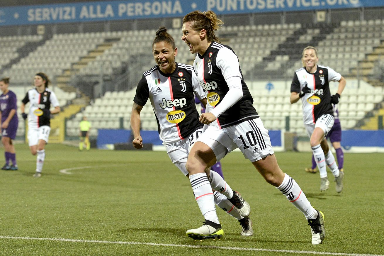 Juventus Women almost swept through its toughest stretch of the season