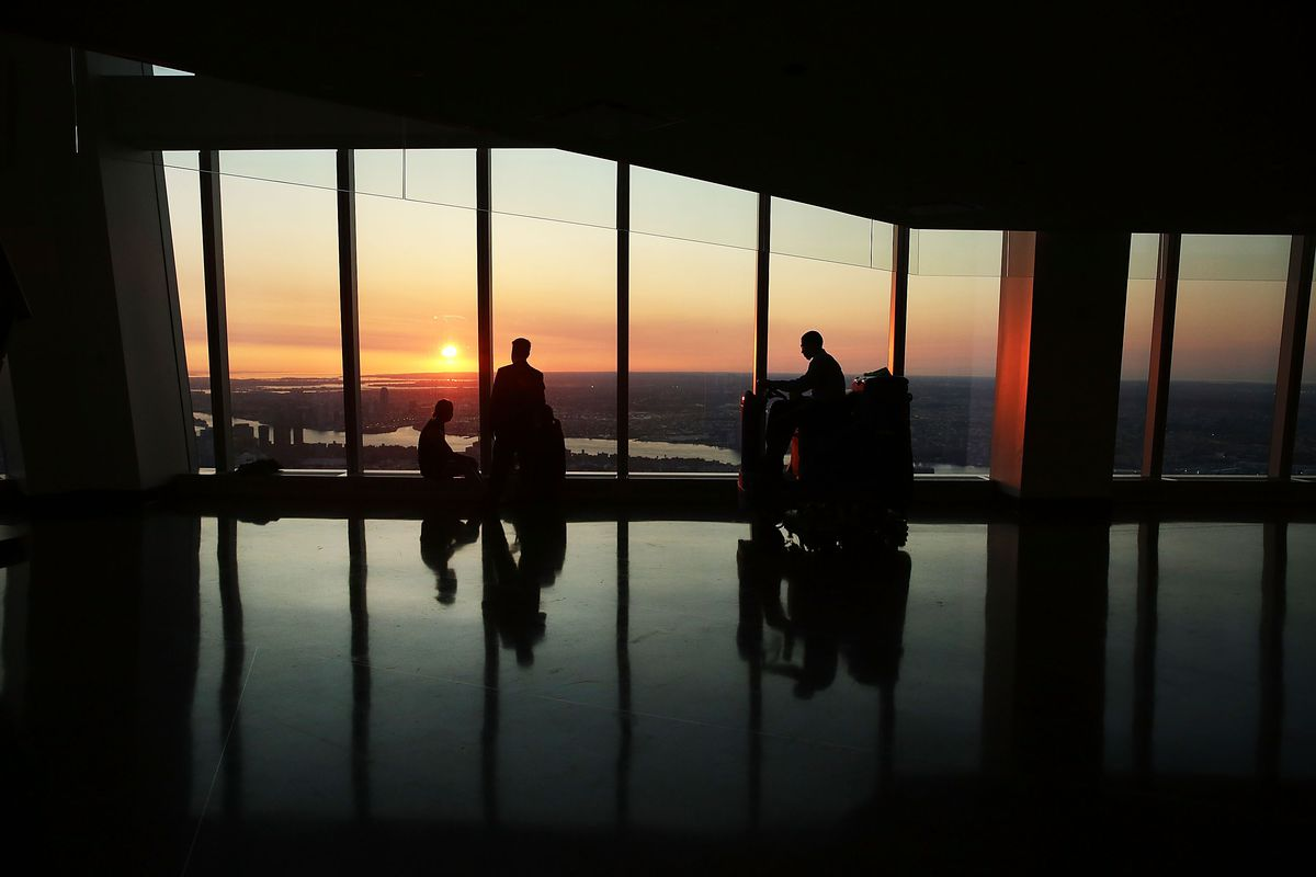 One World Trade Center's Observatory Tower Opens To Public