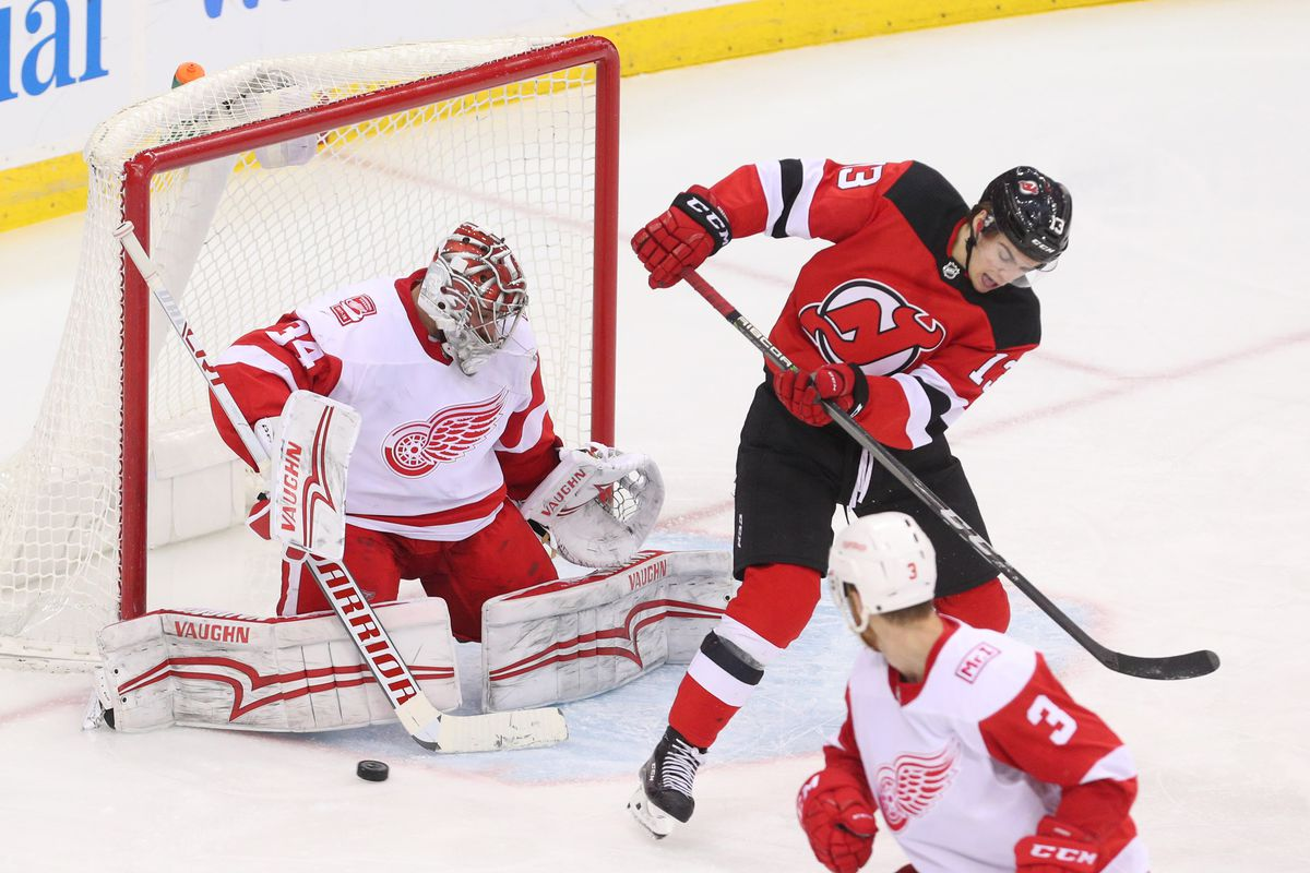 game preview: new jersey devils at the detroit red wings - all about