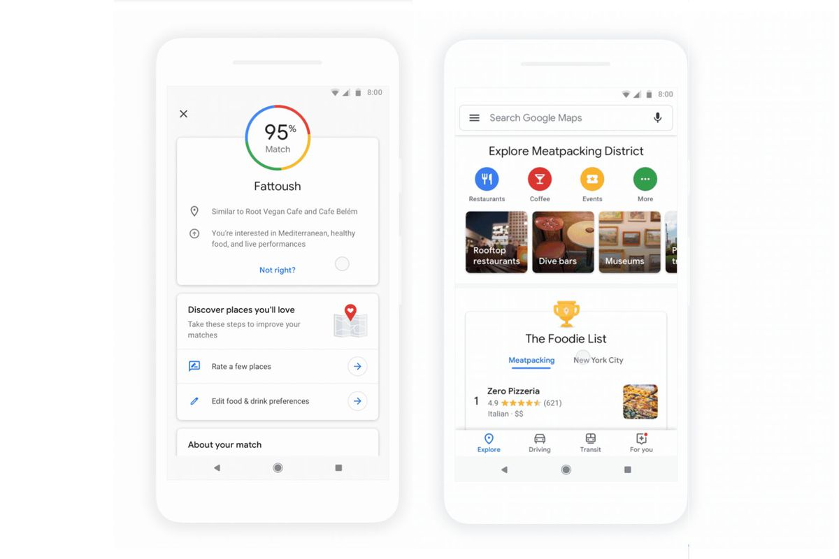 Google Maps Is Getting An Update Today That Ll Make It Easier To Find Recommendations For Restaurants And Other Places Visit On Ios Android