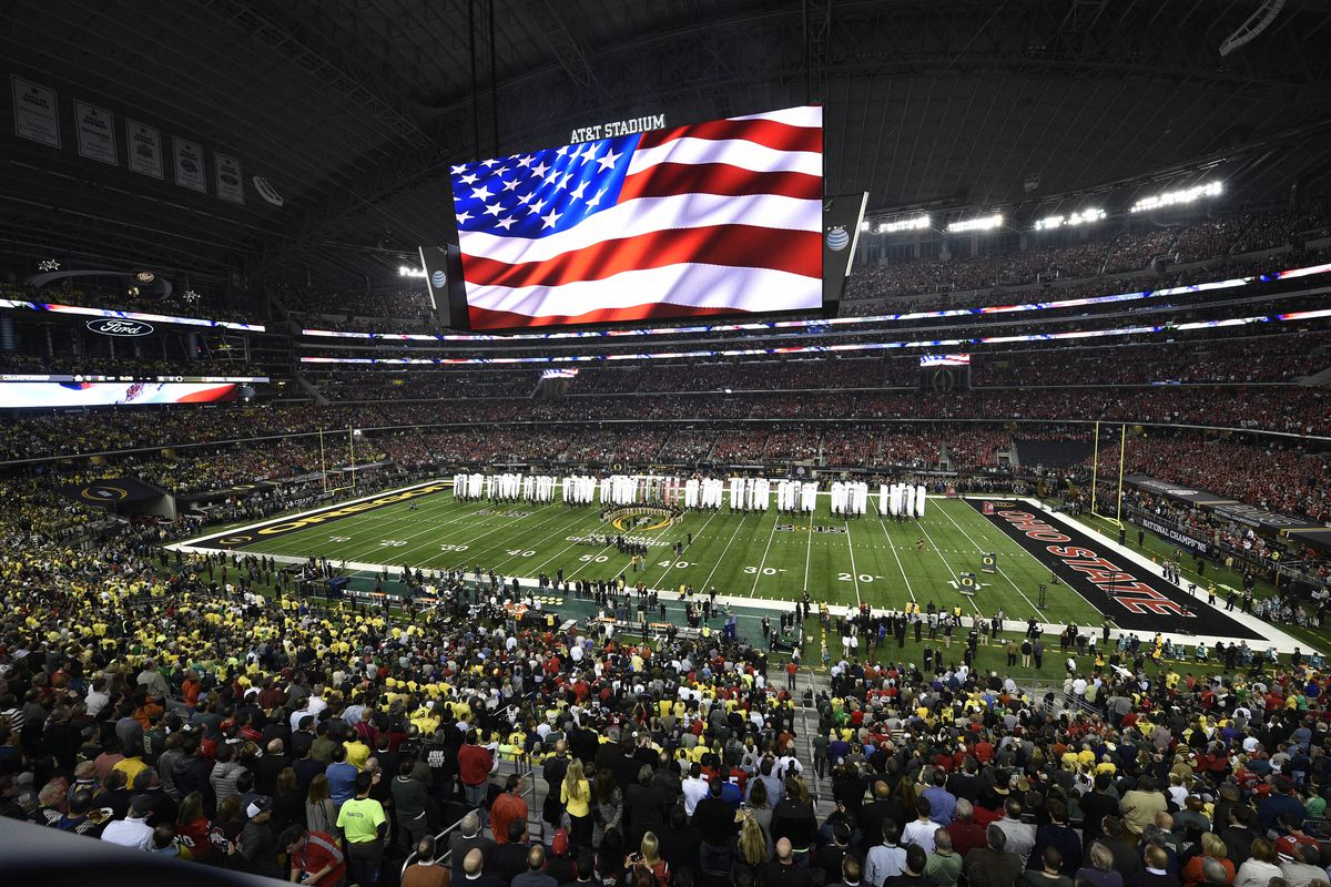 Despite ESPN's request, the 2015 College Football Playoff semifinals won't be changing dates