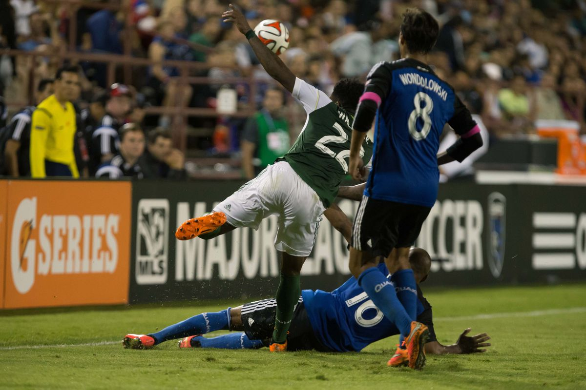 Rodney Wallace led Portland to the win Saturday, they reverse the fixture Wednesday.