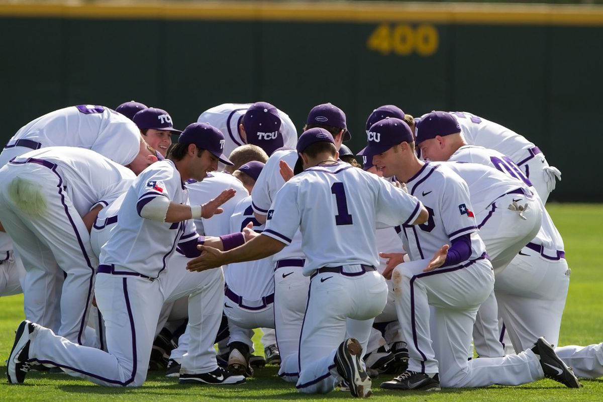 """TCU Baseball looks to continue their winning ways against the Air Force Falcons this weekend <a href=""""http://keithr.zenfolio.com/f585179326"""" target=""""new"""">(PHOTO BY KEITH ROBINSON)</a>"""
