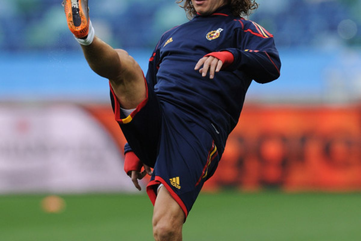 Puyol is not in the mood to accept that his team is on the slide, and he is right