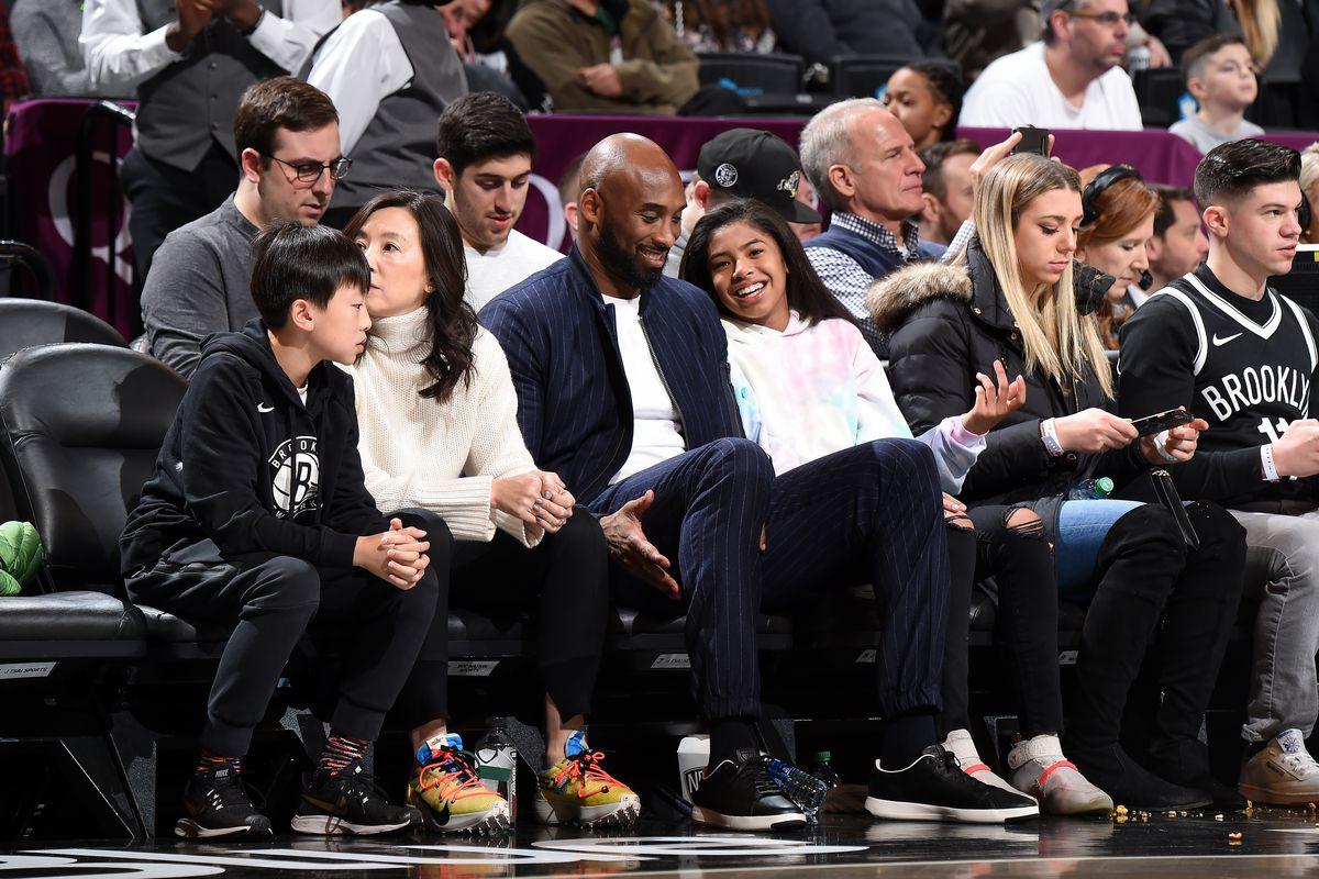 Atlanta Hawks v Brooklyn Nets, Kobe Bryant