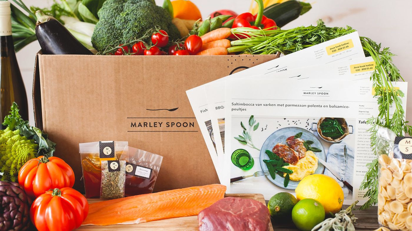 Home Cooking Delivery Service Marley Spoon Snags Another $17 Million ...