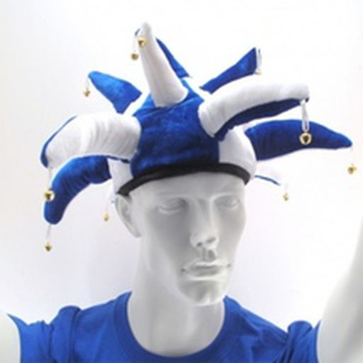 The Blue and White Jester