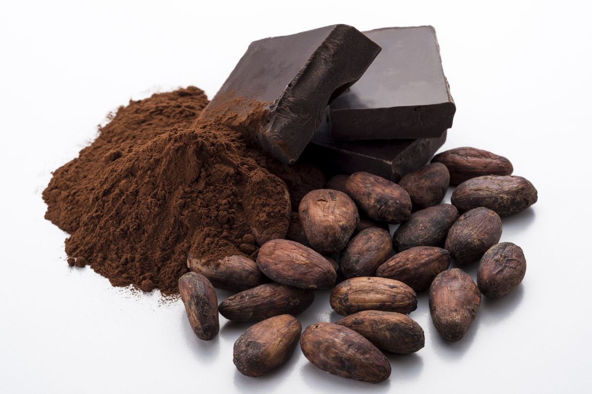 Chocolate and cocoa powder get their start from ground cacao beans. | THINKSTOCK.COM