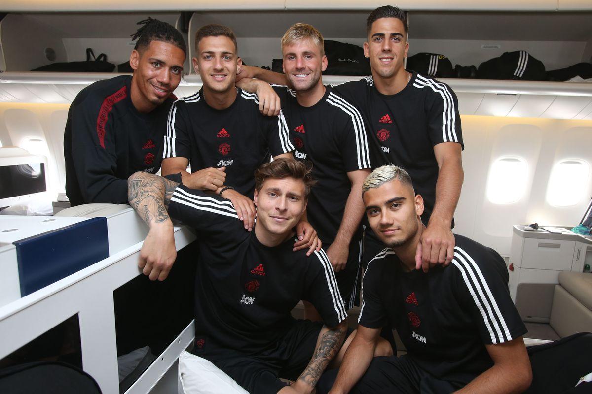 Manchester United Depart for Their Pre-Season Tour
