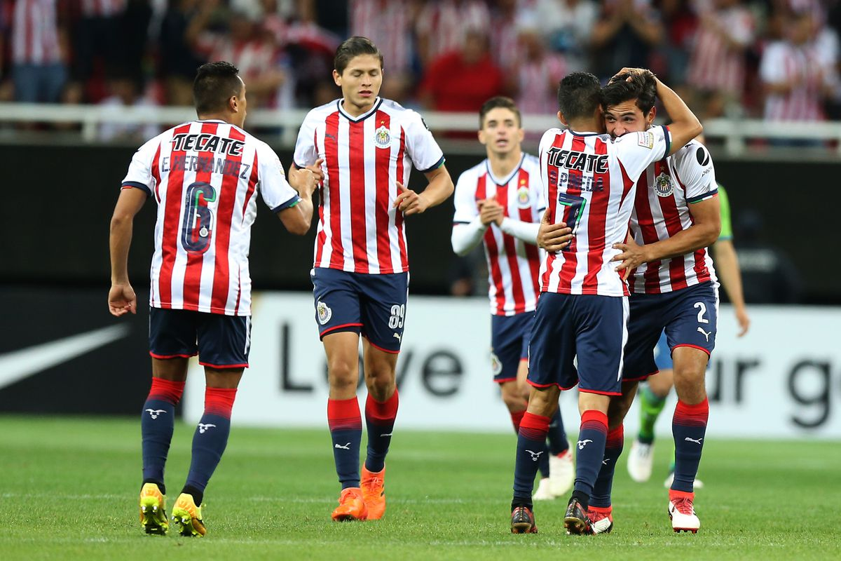 chivas through to ccl semifinals with 3-0 demolition of sounders