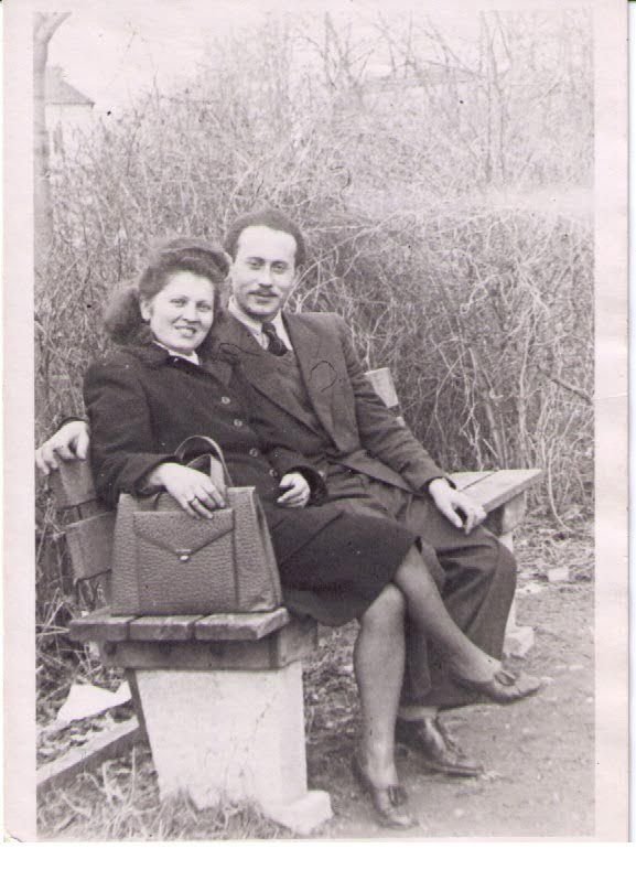 Holocaust survivors Margit and Sandor Kirsche met in Freising, Germany, and got married in 1947 before immigrating to Chicago. | Provided photo