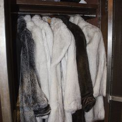 Fur coats await those who want to drink in the Ice Bar.
